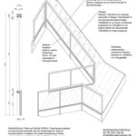 Isometrie Treppe