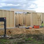 Errichtung Holzrahmenbau EG