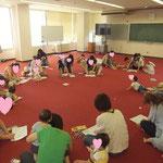子育てサークル「さくらさーくる」アート・セラピー・ワークショップ 年数回開催