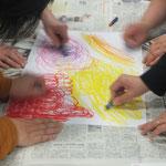 大北圏障がい者支援センター指導員講座『ストレス発散アート・セラピー・講座』
