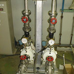 基地主要部・給水循環ポンプ