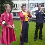 Einzug der Delegationen 4 mit meinem Bruder als Trompeter der Festmusik