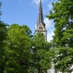 Bei schönstem Wetter, die Immanuelskirche