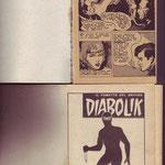 Confronto prima pagine edizione 1963 e versione ibrida