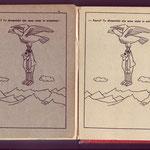 Barzelletta nelle due versioni con cop opaca (cartoncino bianco) e versione lucida (con cartoncino grigio)