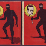 Confronto fra i retrocopertina delle edizioni del 1962 e del 1963