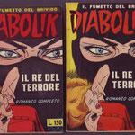 Confronto fra la copertina dell' edizione ibrida e quella  del  1963