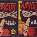 Confronto fra le copertine delle edizioni del 1962 e del 1963