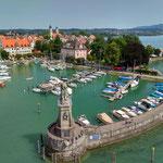 Lindau Hafen, Sommerurlaub