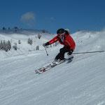 Vincent am Diedamskopf, Skifahren Diedamskopf, Wintersport Bregenzerwald, Haus Stelzhammer