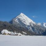die Üntschenspitze, Schoppernau, Bregenzerwald, Haus Stelzhammer