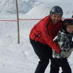 Der Ahornlift ist perfekt für Anfänger, Wintersport Bregenzerwald, Schoppernau, Appartements Stelzhammer