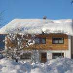 Hauseingang - Ostansicht, Haus Stelzhammer, Ferienwohnungen