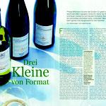 Essen und Trinken Wein