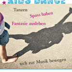 Mitanza Flyer fürs Tanzstudio