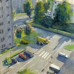 Rue d'anjou - aquarelle