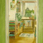 Deuxième atelier - Huile sur toile