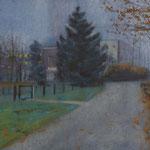 Janvier - Aquarelle sur papier - 55 x 34 cm