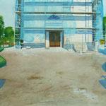 Eglise en Scanie - 49 x 34 cm