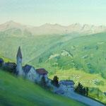 Alpes Autrichienne - aquarelle