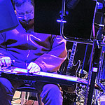 Arno Seiss  an der Lapsteel Gitarre