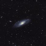 M 106.  Spiralgalaxie