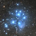 M 45. Plejaden.   junger Sternhaufen