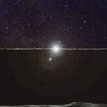 Sonnenaufgang am Mond 1