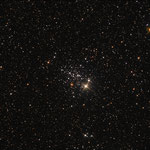 NGC 457. offener Sternhaufen