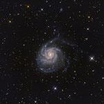 M 101 gr. Bär.   Spiralgalxie