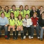 C-Juniorinnen Hallenkreismeister 2005/2006