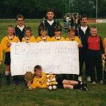 E-Jugend Pokalsieger 1995/1996