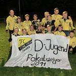 D-Jugend Kreispokalsieger 2011/2012