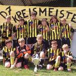 D-Jugend Kreismeister und Kreispokalsieger 2006/2007
