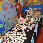 The bake-off at our 50th anniversary party
