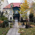 Vorgarten historische Villa Wien