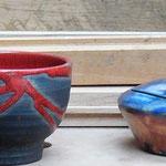 Teeschalen und Zuckerdosen (Freibrand)