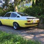 Opel Kadett C GT/E, Oldtimer Garage D. Bauhofer, Teufenthal - Restauration und Werkstatt Service von Oldtimern