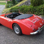 Total Restauration Austin Healey 1960, Oldtimer Garage D. Bauhofer, Teufenthal