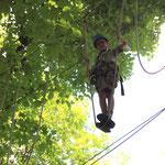 Pause in 12 Meter Höhe