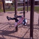 Geschicklichkeitsparcours am Spielplatz