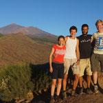 Birdingteam met Tim, Ines & lokale gids Pedro