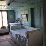 Das Kleinere Schlafzimmer mit ausziehbarem Doppelbett