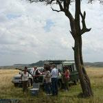 Break in Massai Mara