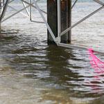 Wasserspiele bei aufsteigender Flut