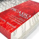 PICASSO SERIES   Diseño: Julio Antonio Blasco, Sr. López Diseño de caja contenedora de catálogos. Dirección de arte: Espirelius Cliente: Fundación Bancaja para el Museo Munal de México, 2012