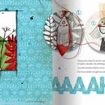 La ladrona de sellos, de Txabi Arnal y Julio Antonio Blasco, Sr. López. Edelvives.