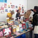 Asistencia al congreso de Estudio 64/ Librería y galería especializada en ilustración.