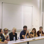 Mesa redonda con profesionales de la edición. Asistente como editor y gestor en Estudio 64.