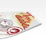 ¿TIENES DIABETES? /// Ilustración de Julio Antonio Blasco, Sr. lópez diseño de Pintar-Pintar. Detalle de cartel.